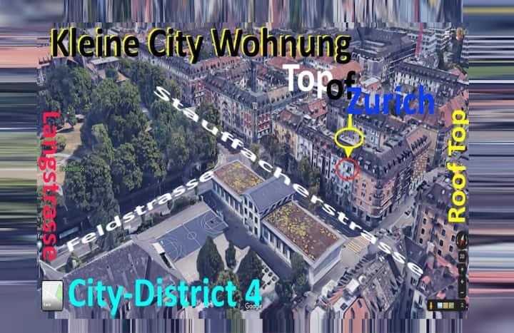 """Kleine City Wohnung """"Top of Zurich"""""""