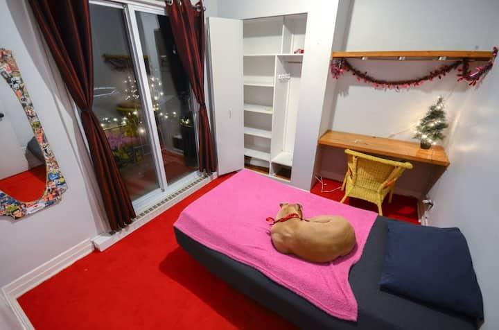 Cozy chambre/room  close to the metro