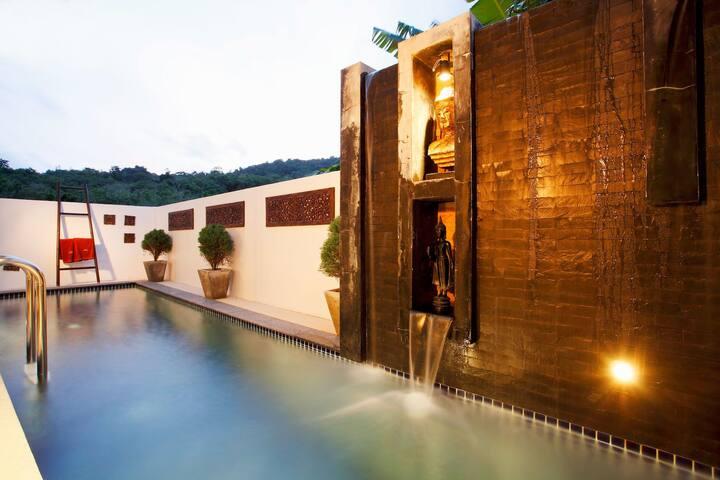 Nai Harn Beach Modern 1 Bed Villa