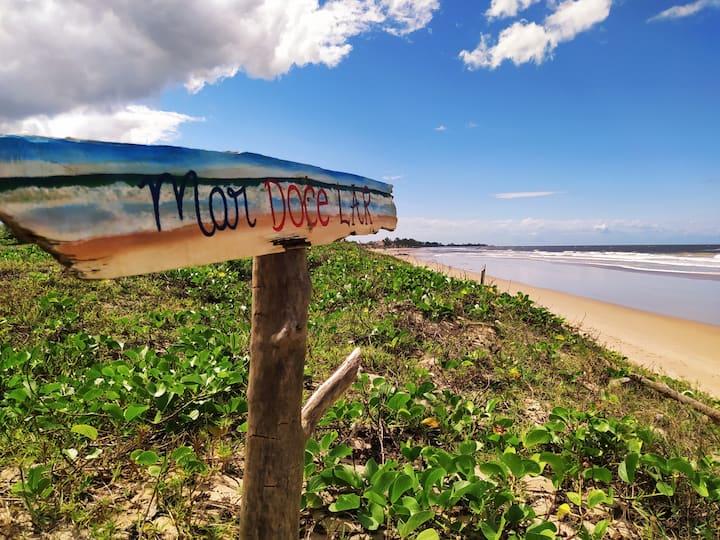 MAR DOCE LAR - Praia de Sossego C/WiFi 🏖️🌊🌞