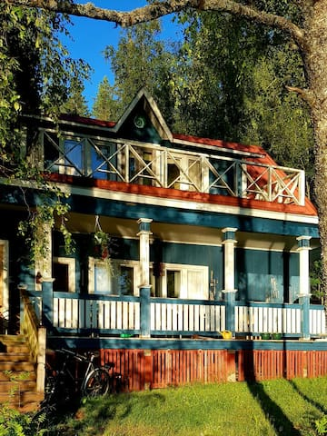 Old style summer house