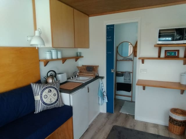"The ""Moorings"" Tiny-Container-Home Stay"