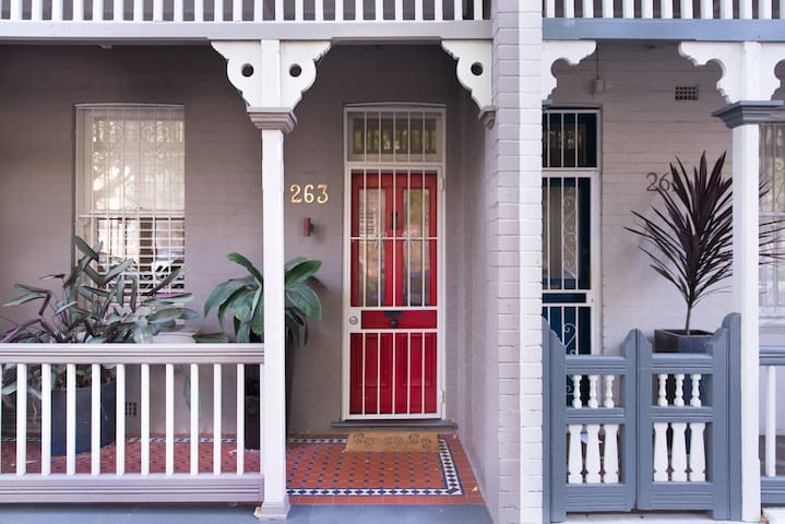 庄严的 Darlinghurst Terrace