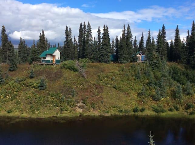 Alaska - a scenic remote bush cabin - Talkeetna - Kabin