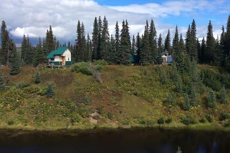 Alaska - a scenic remote bush cabin - Talkeetna