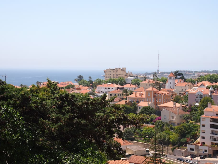 view to the sea, Estoril and Cascais