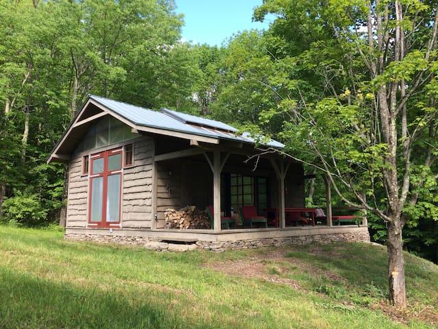 Designers hilltop modern barn conversion