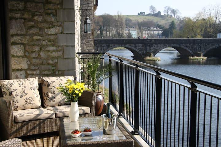 Luxury riverside apartment in UK
