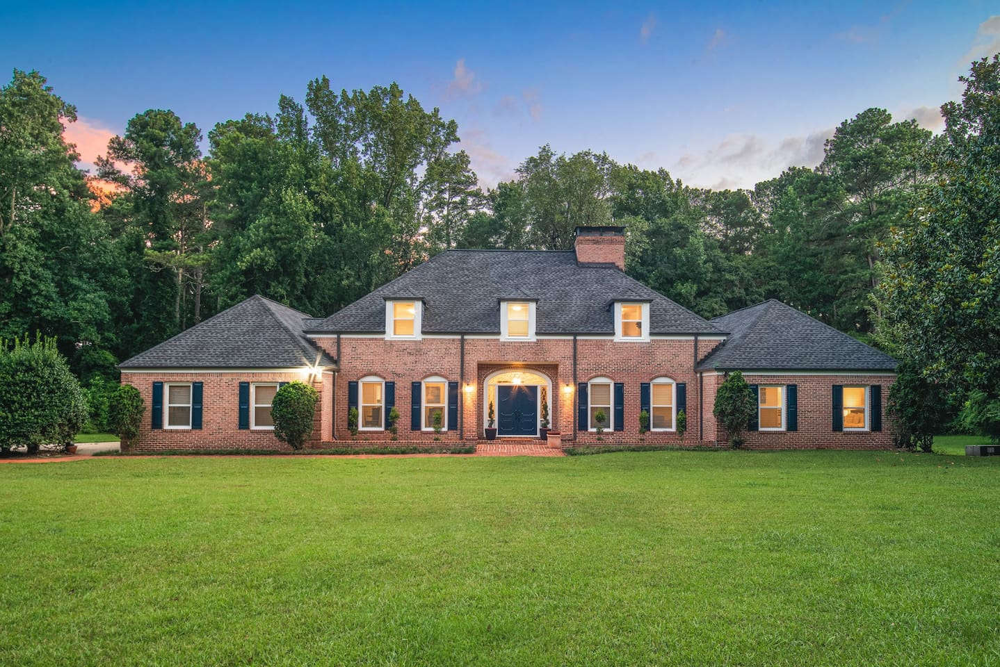 Stunning Curb Appeal, Two-Story Mansion sitting on 22 Acres of land