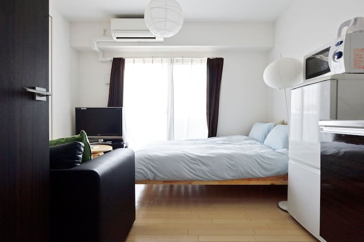 Central of Osaka! Beautiful place/cozy room/0202