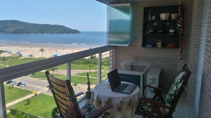 Apartamento com vista ao mar - Indaiá - Bertioga