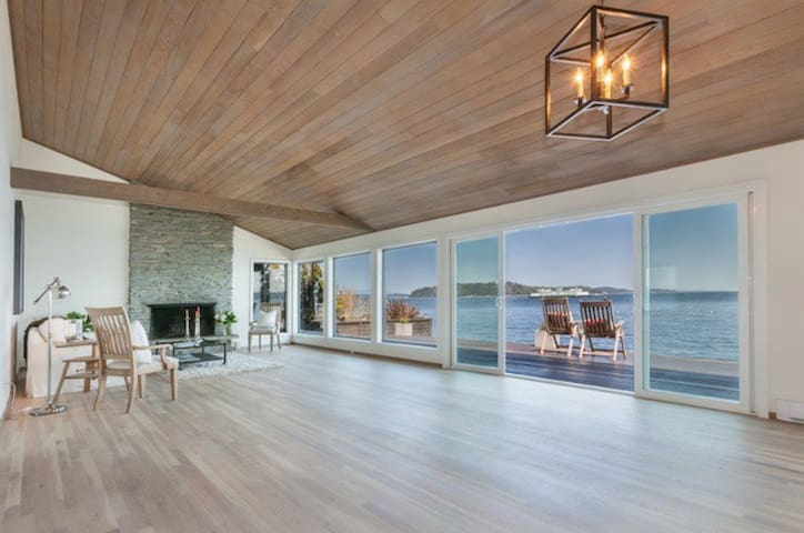 Stunning Mod Island Retreat - Escape the concrete! - Vashon - Lejlighed