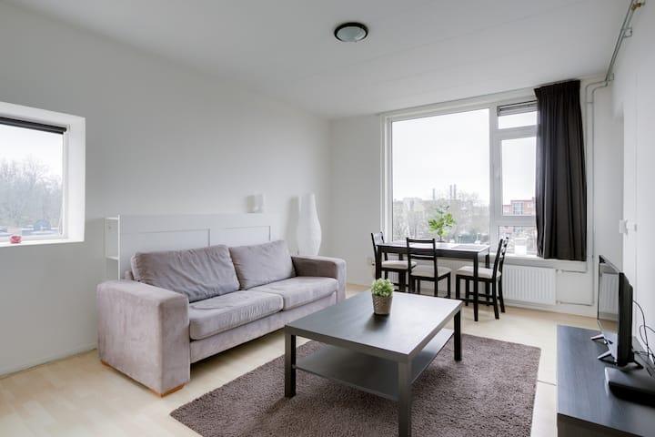 Utrecht City 2BR Apartment - Julianapark next door