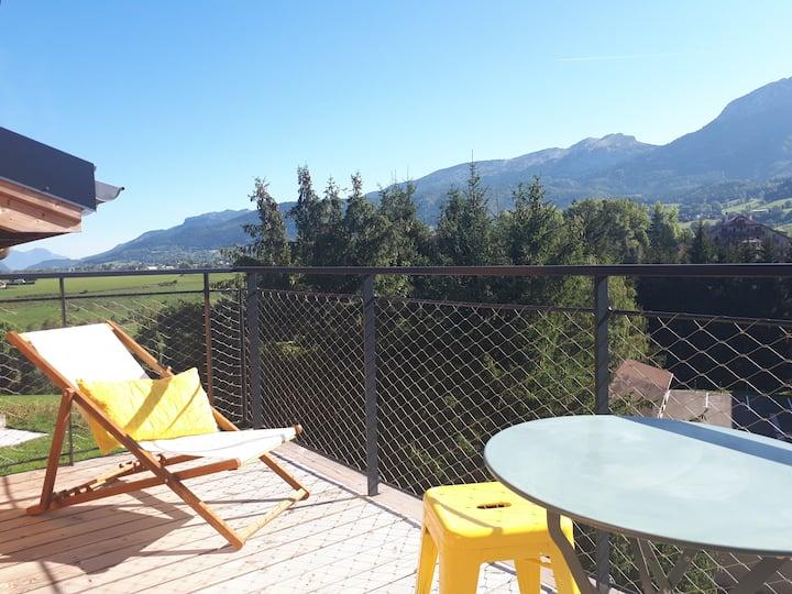 Charmant appartement avec balcon à Villard-de-Lans