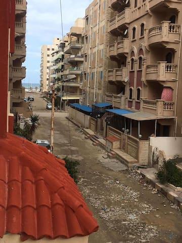 الإسكندريه قريه أكتوبر  قريبه لمطار برج العرب