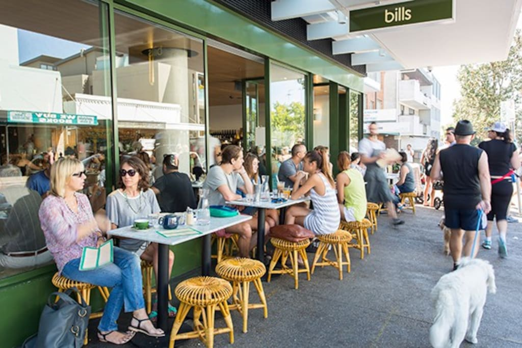 walking distance to everything you need:cafe's restaurants, bars