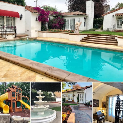 Spanish Home in a Secret Garden your own Resort