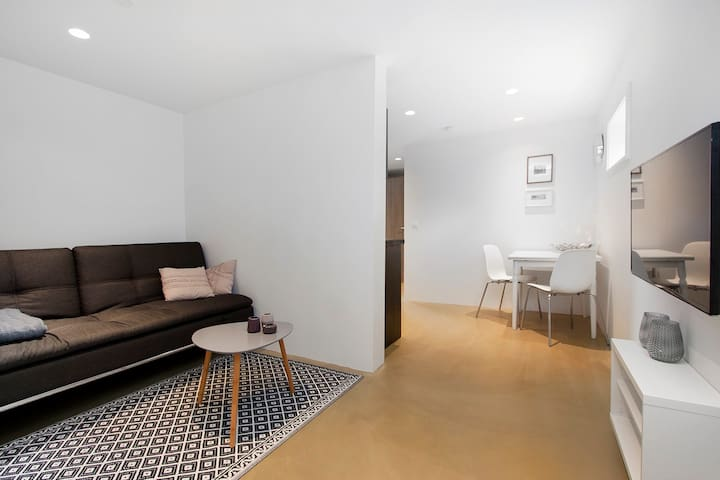 Newly renovated apartment in a lovely street