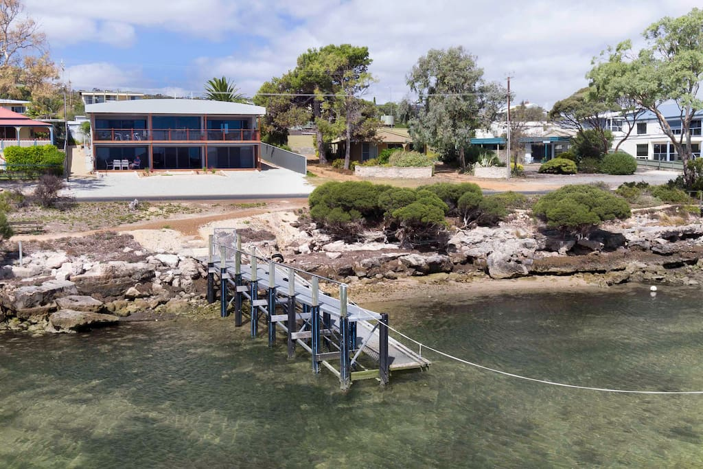 You have use of the private jetty just 20 metres from the front doors