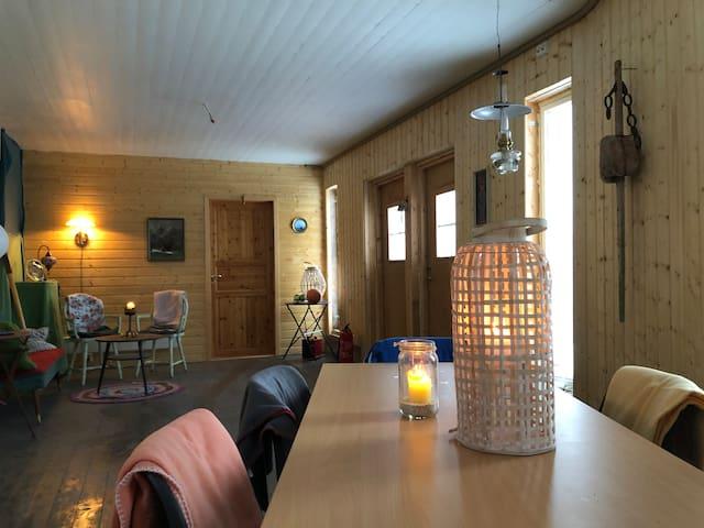 Valhall sjøhus i hjertet av Vesterålen og Lofoten