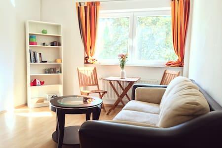 Bright Room near the Herrngarten - Darmstadt - Daire