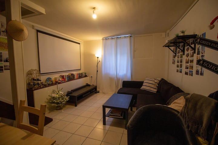 Appartement spacieux au centre-ville de Bordeaux