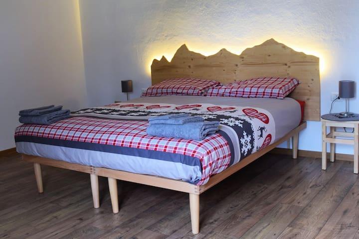 Rilassante appartamento con portico Val di Fiemme
