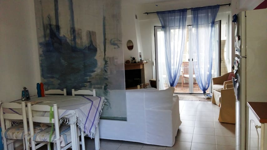 Quiet, cool, close to every activity - Pefkochori - Appartement