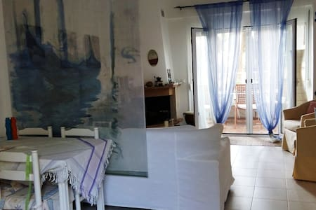 Quiet, cool, close to every activity - Pefkochori - Apartmen