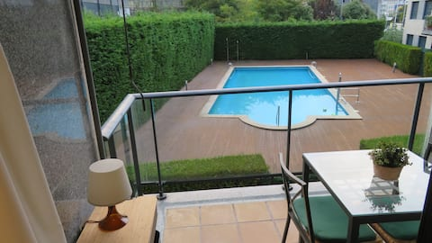 Apartamento Playa Ladeira-Baiona 2126