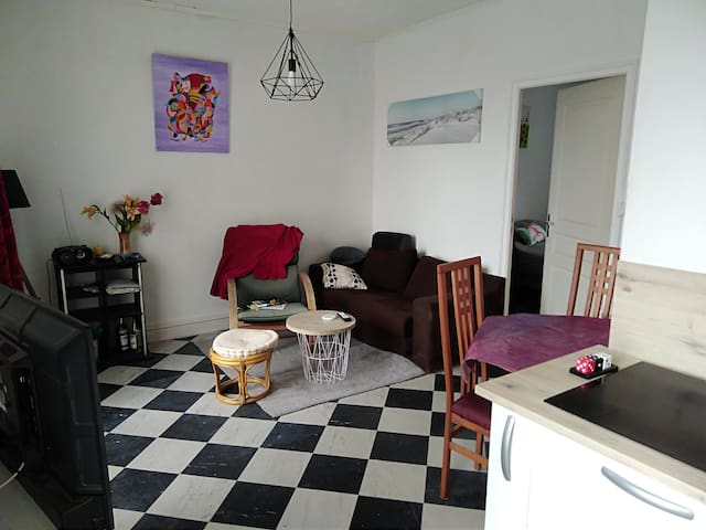 Appartement résidence Pergola 50metres de la mer