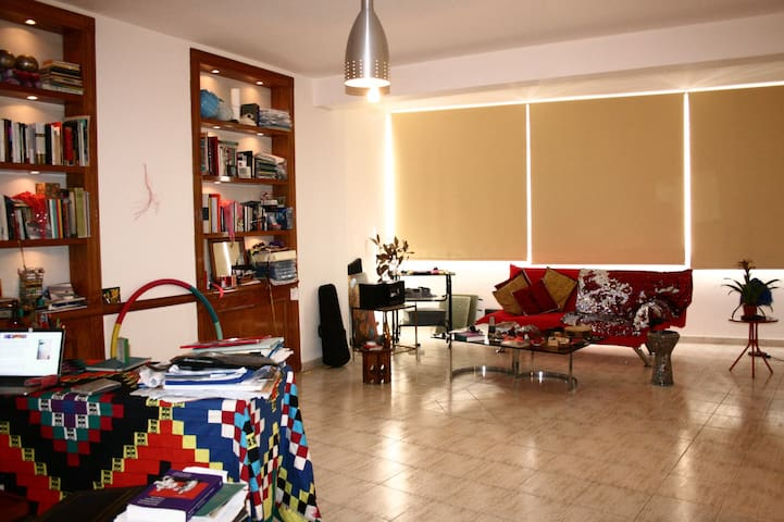 Sunny & Spacious 1 BR Apt at the Heart of Sassine