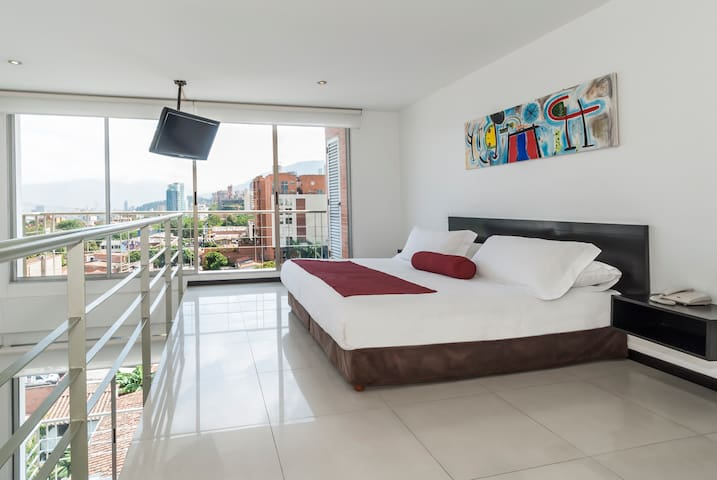 Duplex Loft Designe Family Apartment in Poblado