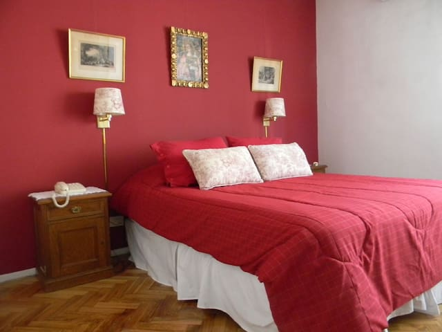 2 Dormitorios en Recoleta para 5 personas. - Ciudadela - Apartament