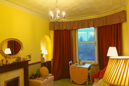 One-bedroom flat, Old Kilpatrick Glasgow Scotland - Old Kilpatrick - Appartement