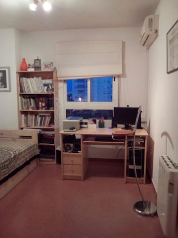 Habitación con bellas vistas calefacción y aire acondicionado