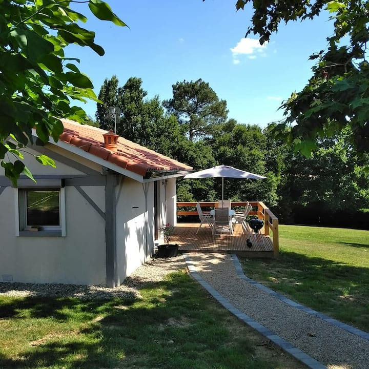 Maison à 10 min d'Eugènie les Bains pour curistes