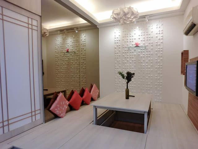 2-4pax, Japan Suite +bathtub, near KLCC & KL Tower
