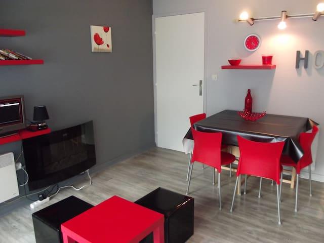 studio 28m2 résidence euroneige+parking