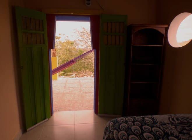 Private room, in ecological park near Uxmal