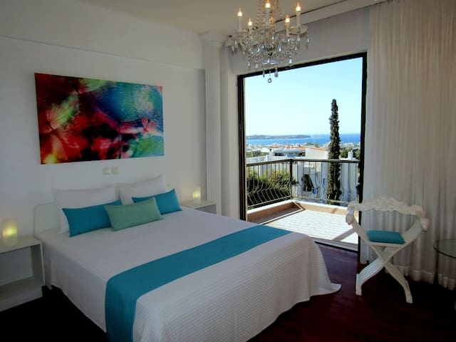 STUNNING LUXURY 360° SEA VIEW APART 3BDRM SLEEPS 6 - Voula - Appartement