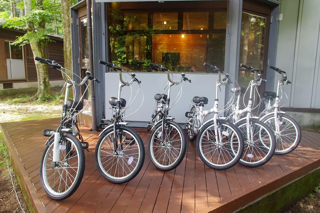自転車最大9台