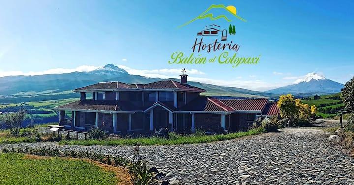 Balcón al Cotopaxi un lugar para descansar