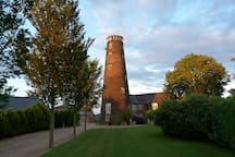 The Old Mill. Stunning 7 storey windmill