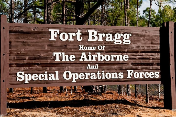⭐Soldier's Pad 7.1 Miles to Fort Bragg+Free Wi-Fi⭐