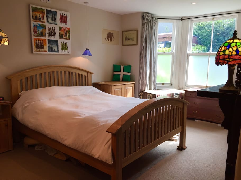 Large airy room, with a very comfortable king sized bed
