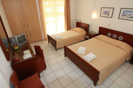Hermes standart double room - คิสซามอส