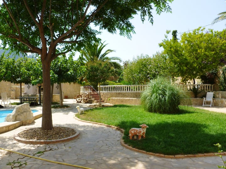 Villa with 8 bedrooms in Alforja, with wonderful mountain view, private pool, enclosed garden - 25 km from the beach