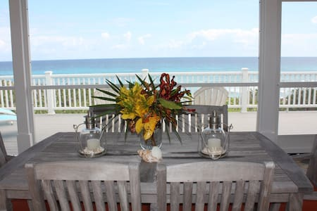 ISLAND DREAMS BEACH HOUSE!!!  OPTION OF 1BR or 2BR - Clarence Town - Casa