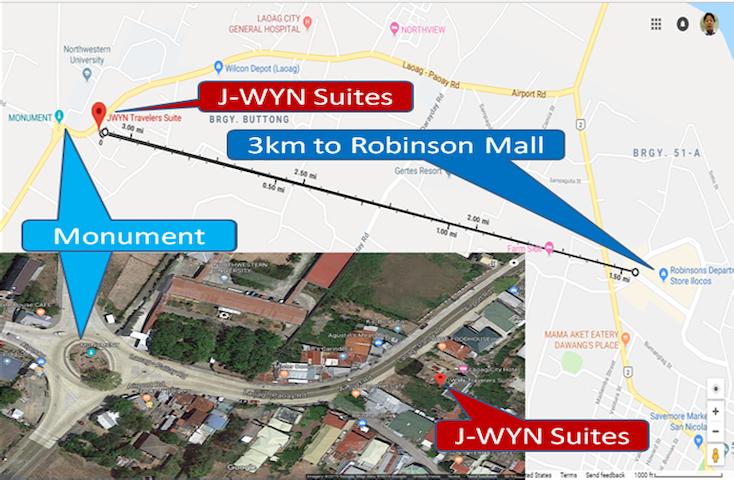 J-WYN  SUITES Location